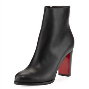 Christian Louboutin Adox Leather Block-Heel Boot